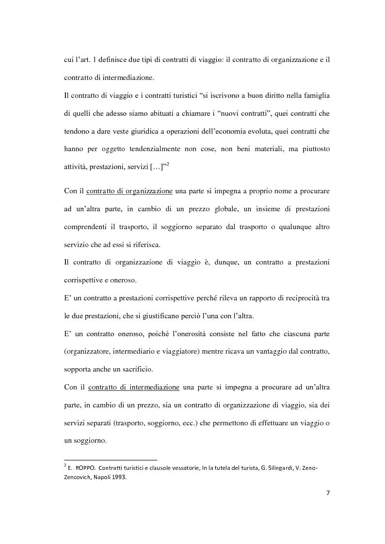 Anteprima della tesi: Il danno da vacanza rovinata, Pagina 3