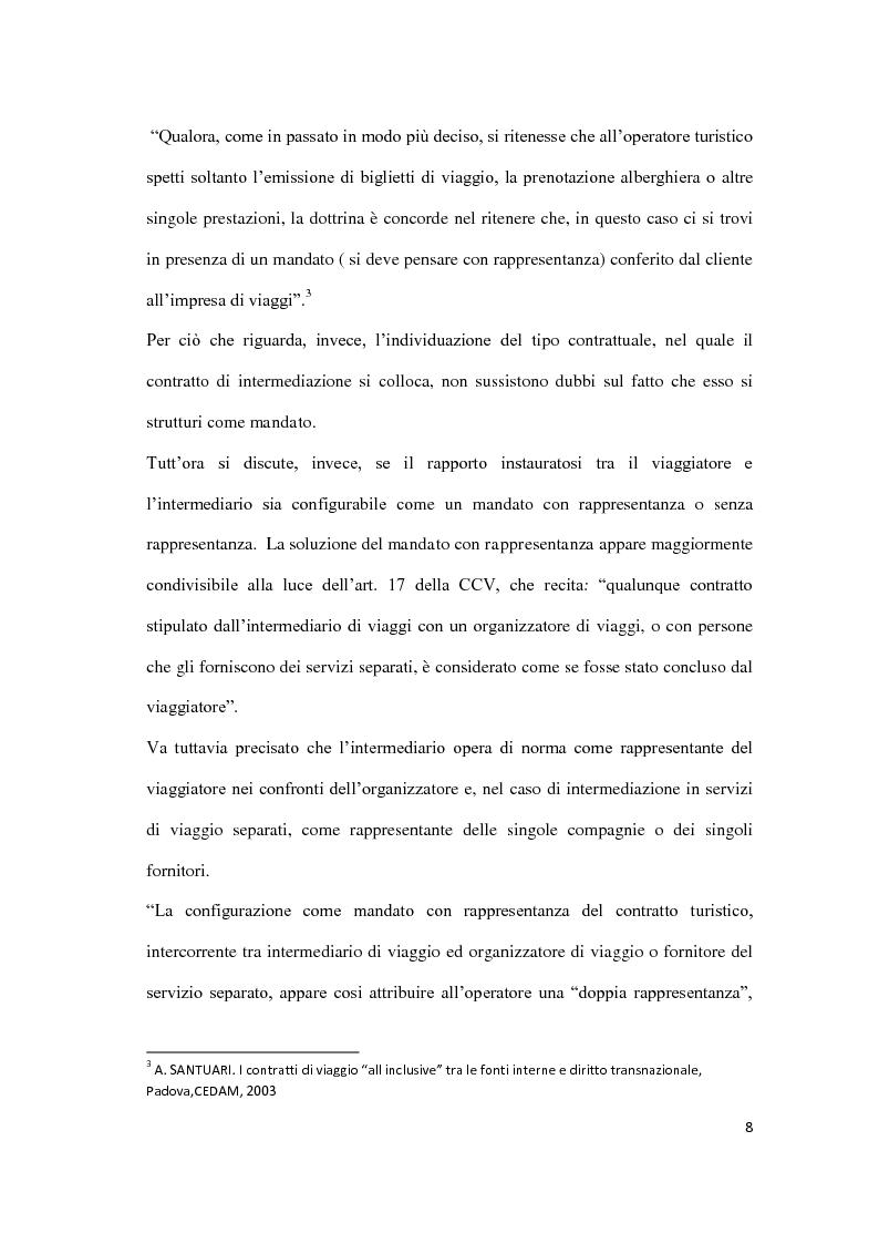 Anteprima della tesi: Il danno da vacanza rovinata, Pagina 4