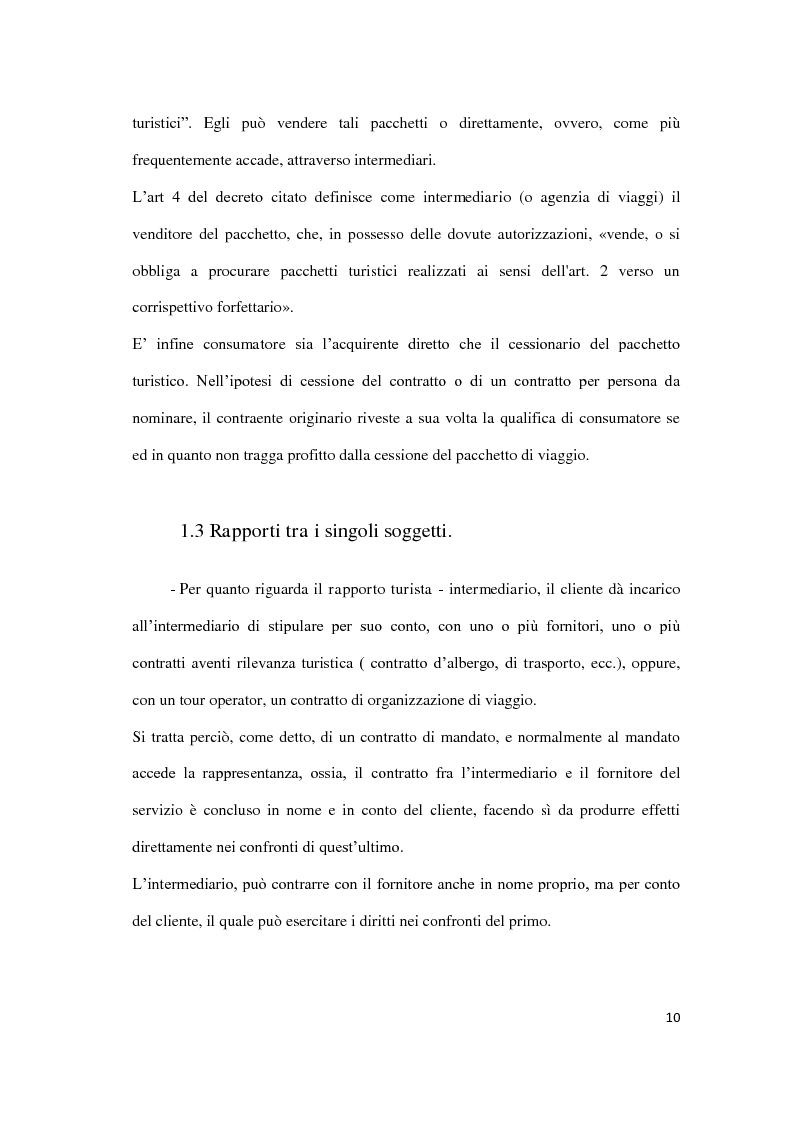 Anteprima della tesi: Il danno da vacanza rovinata, Pagina 6