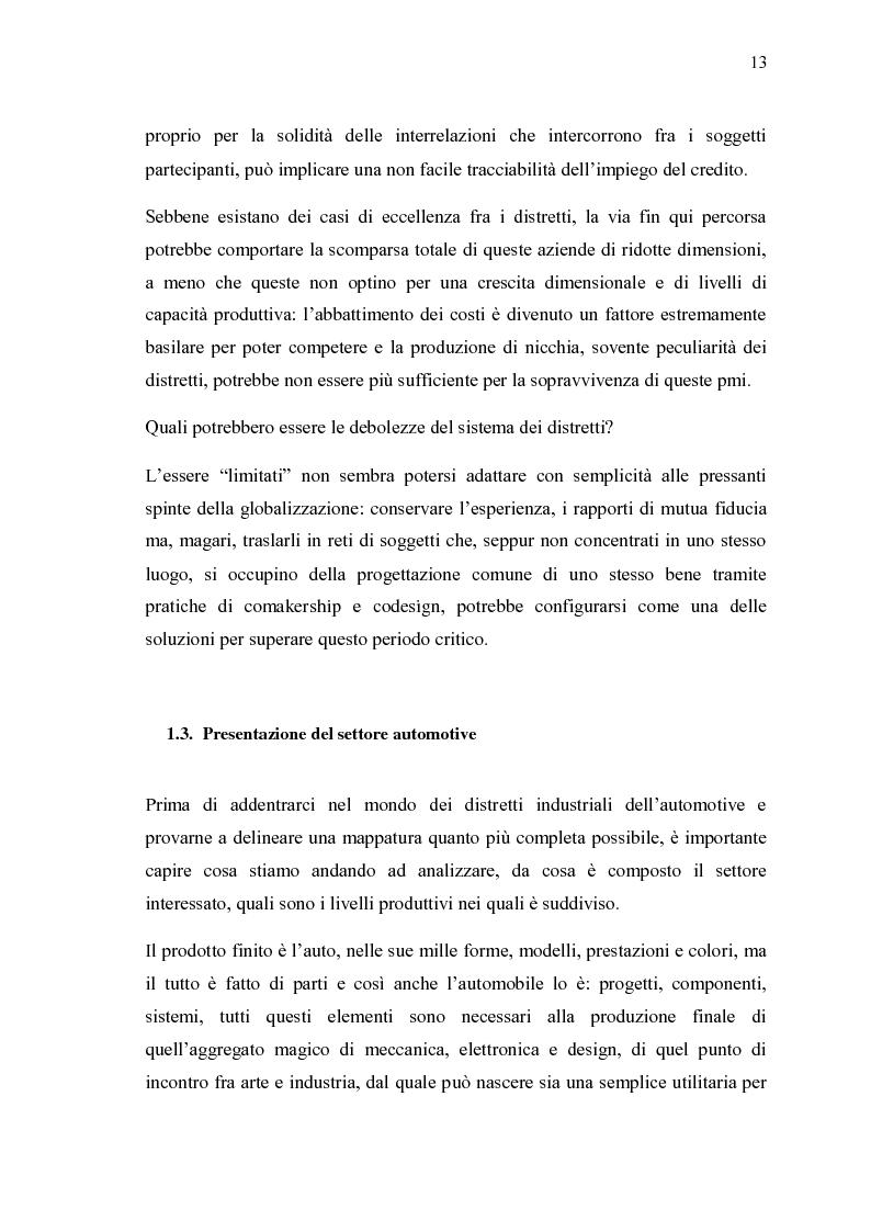 Anteprima della tesi: Ricerche e studi sull'evoluzione generale del settore automobilistico in un insieme globale, Pagina 13
