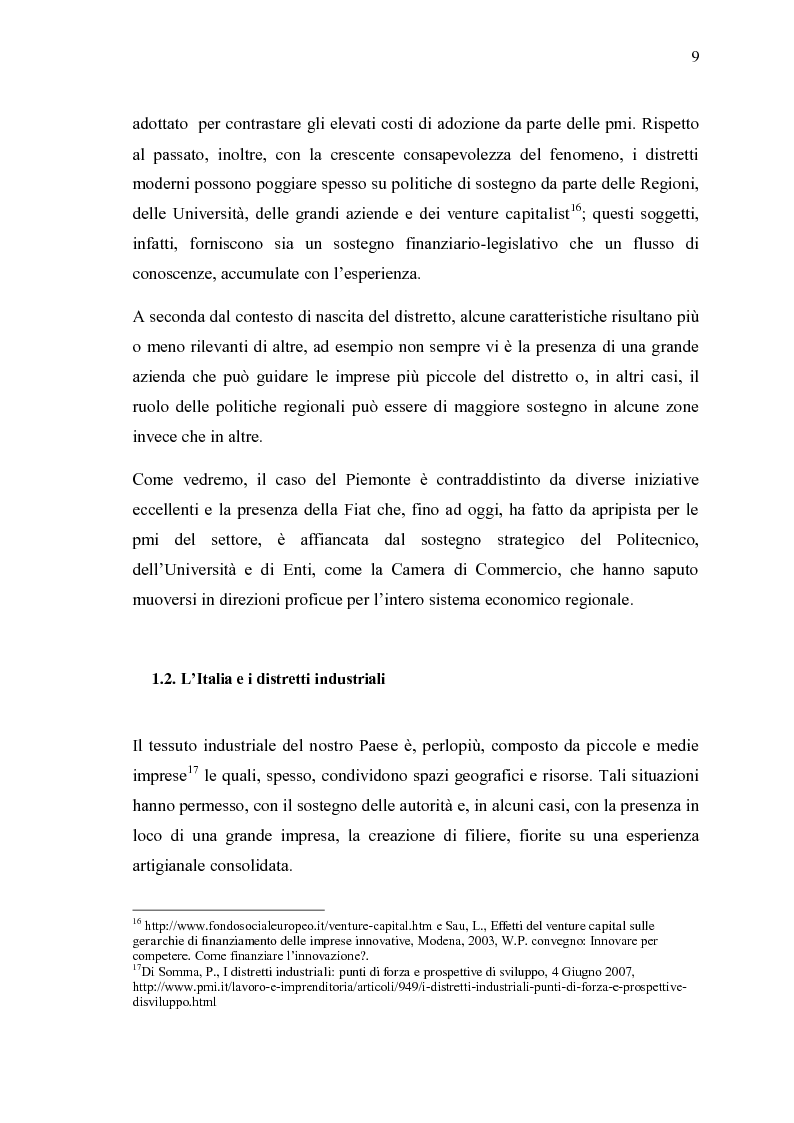 Anteprima della tesi: Ricerche e studi sull'evoluzione generale del settore automobilistico in un insieme globale, Pagina 9