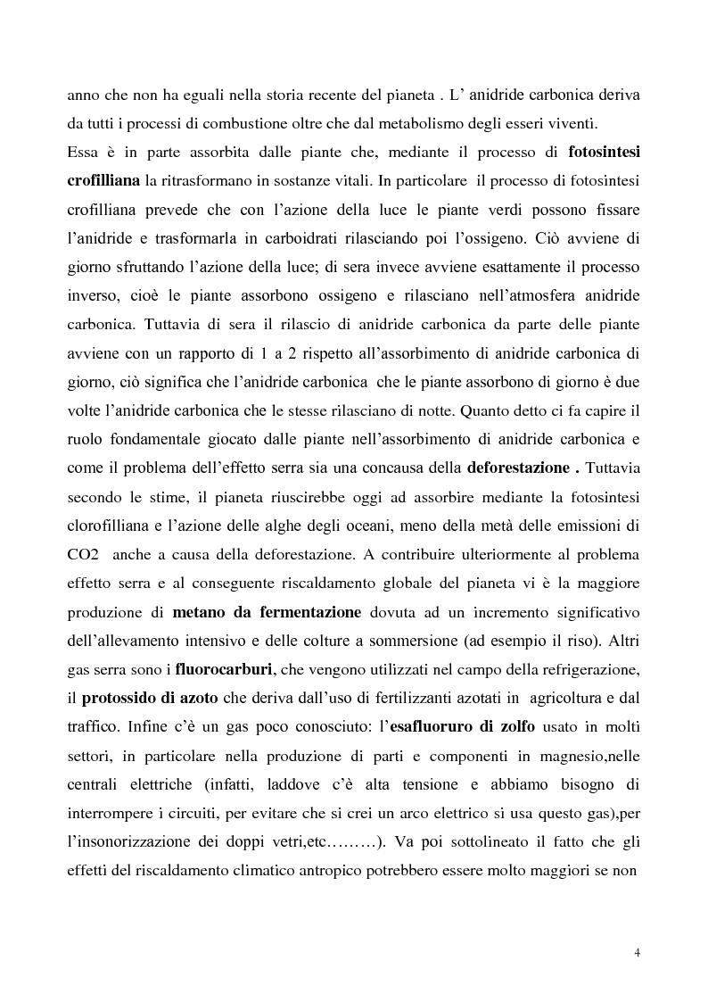 Anteprima della tesi: Gli effetti economici dei cambiamenti climatici: il rapporto Stern, Pagina 4
