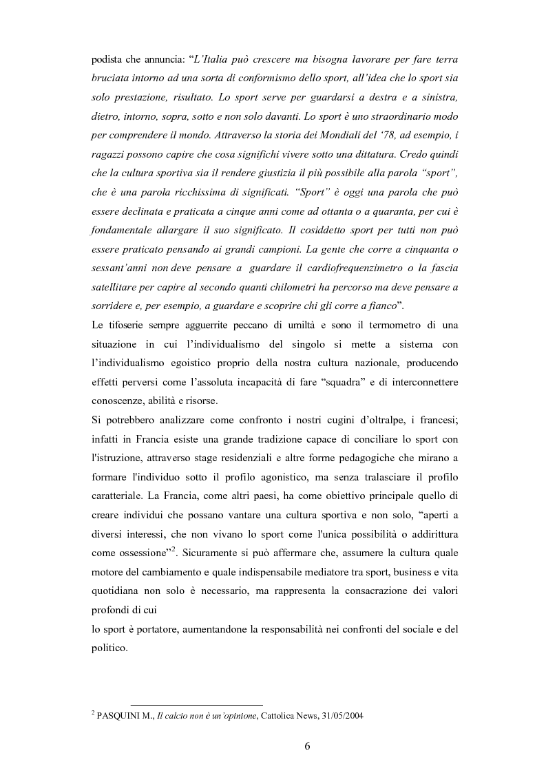 Anteprima della tesi: L'evoluzione del linguaggio giornalistico sportivo, Pagina 4