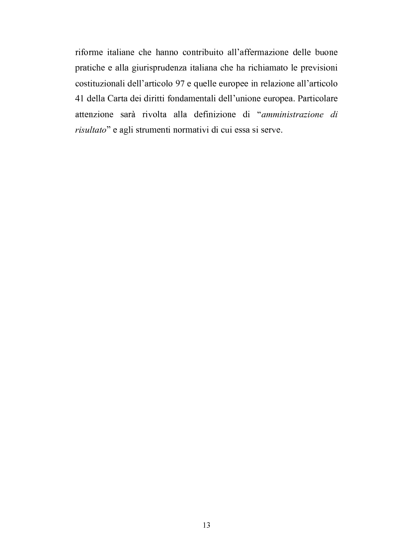 Anteprima della tesi: Il principio di buona amministrazione, Pagina 9