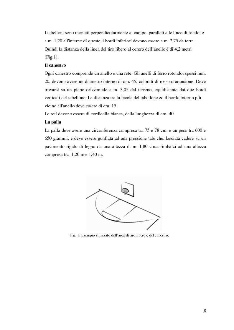 Anteprima della tesi: La prestazione nel tiro libero della pallacanestro nella condizione immaginativa, imitativa e simulativa, Pagina 5