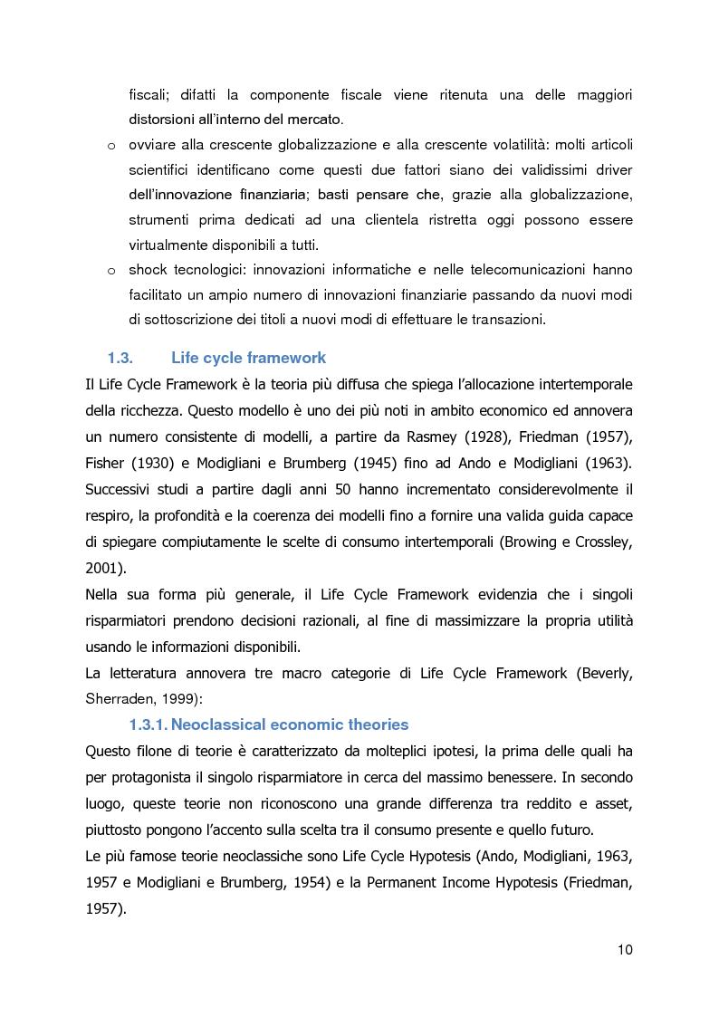 Anteprima della tesi: Un caso di innovazione finanziaria: Reverse Mortgage, Pagina 4