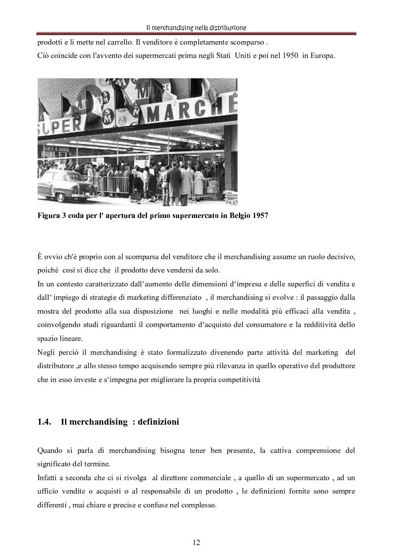 Anteprima della tesi: Le nuove dimensioni del merchandising distributivo, Pagina 10