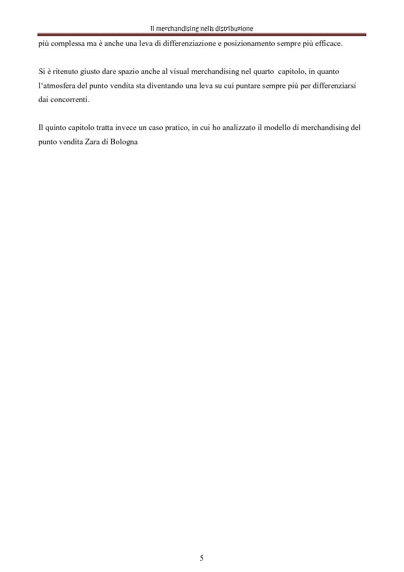 Anteprima della tesi: Le nuove dimensioni del merchandising distributivo, Pagina 3