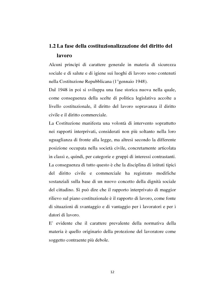 Anteprima della tesi: La sicurezza sul lavoro e rischio psicologico, Pagina 8