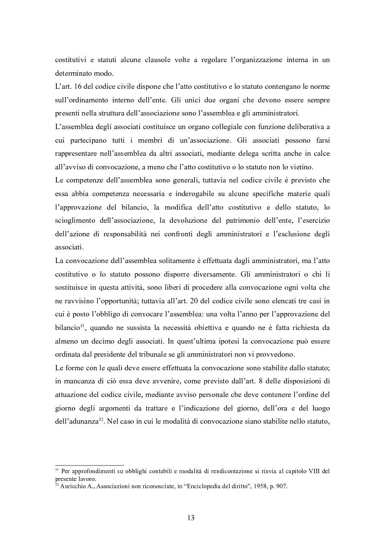 Anteprima della tesi: Associazioni sportive dilettantistiche: aspetti tributari e civilistici, Pagina 13
