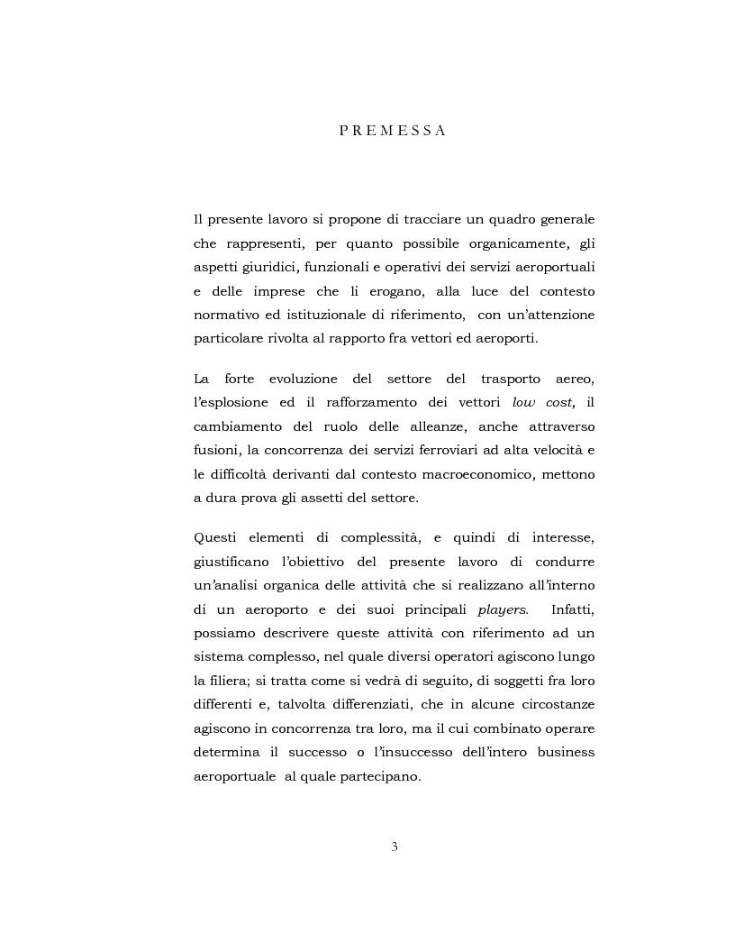 Anteprima della tesi: I Servizi aeroportuali, Pagina 2