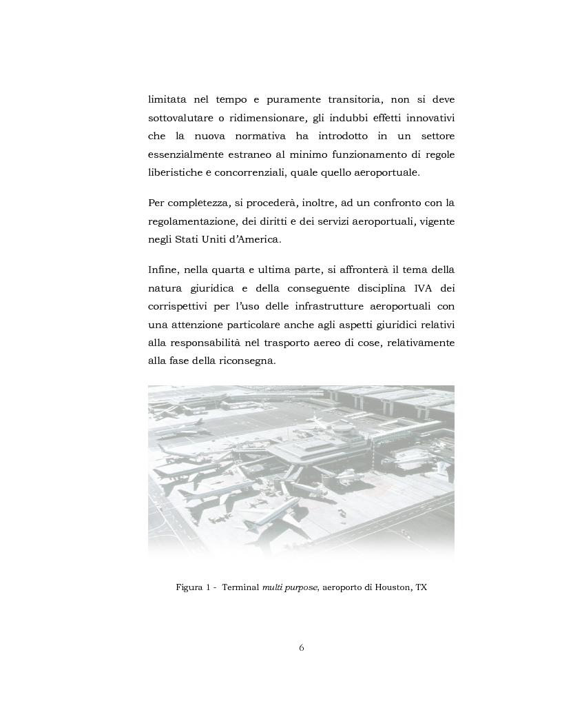 Anteprima della tesi: I Servizi aeroportuali, Pagina 5