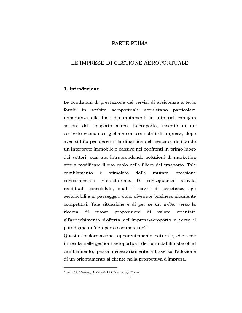 Anteprima della tesi: I Servizi aeroportuali, Pagina 6