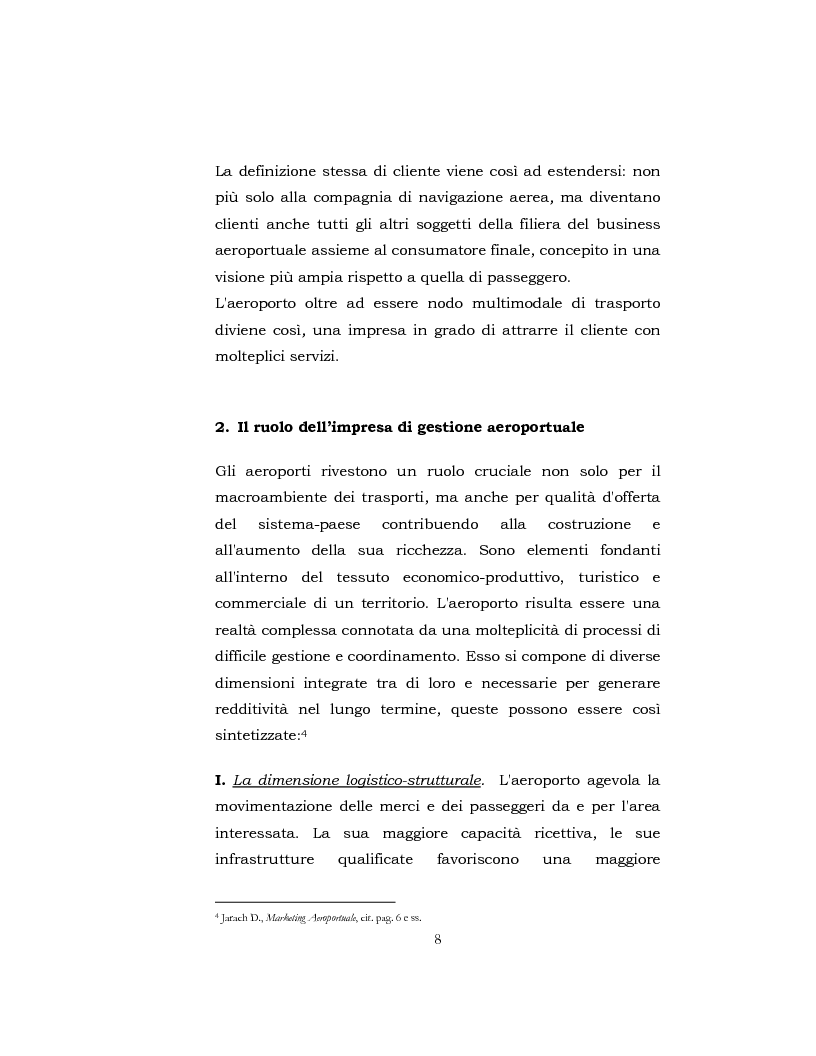 Anteprima della tesi: I Servizi aeroportuali, Pagina 7