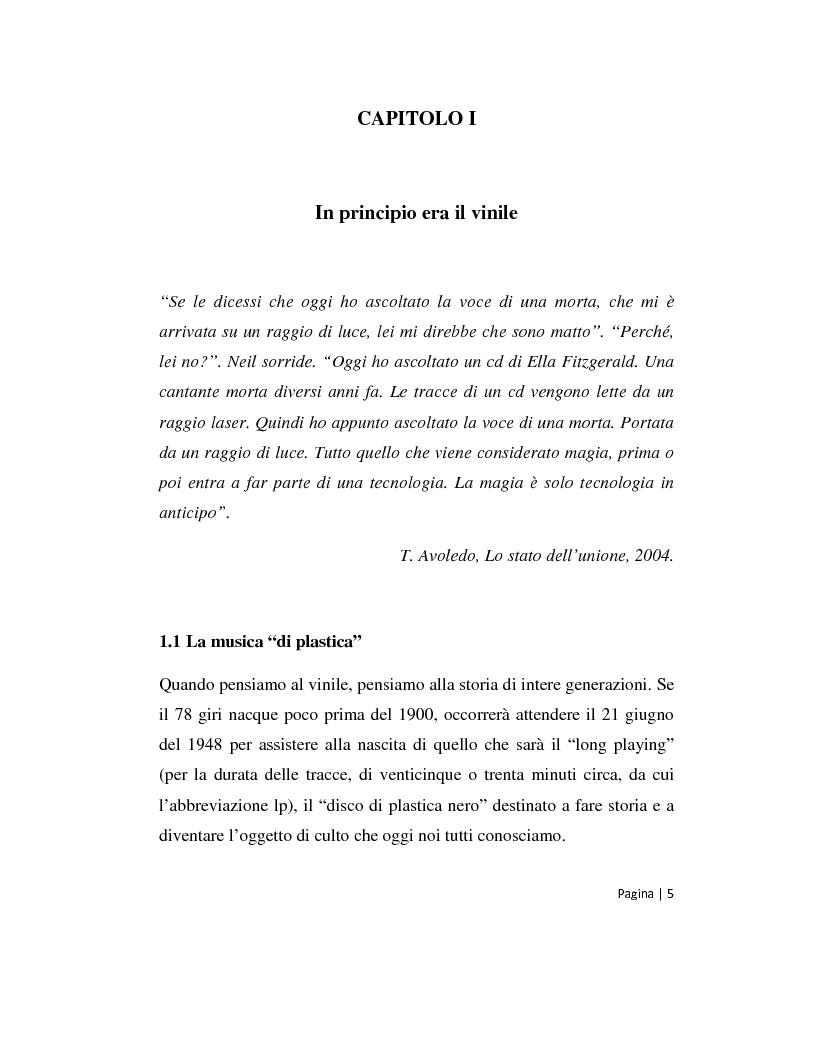Anteprima della tesi: Musica 2.0 - Come Internet ha cambiato il panorama della musica, Pagina 5