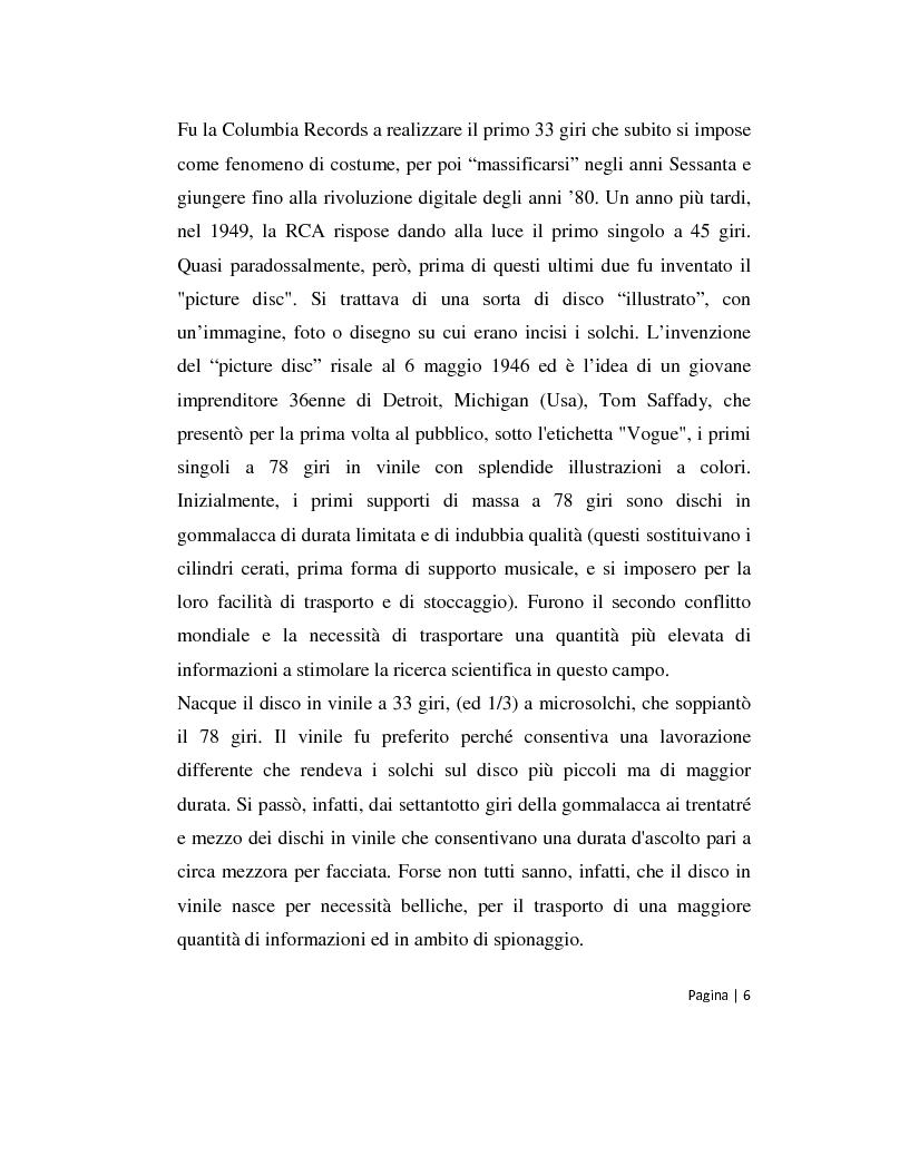 Anteprima della tesi: Musica 2.0 - Come Internet ha cambiato il panorama della musica, Pagina 6