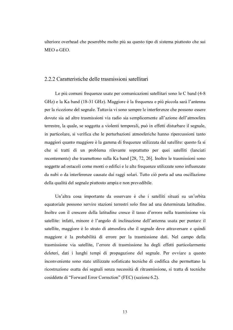 Anteprima della tesi: Protocolli basati su TCP per comunicazioni satellitari, Pagina 13
