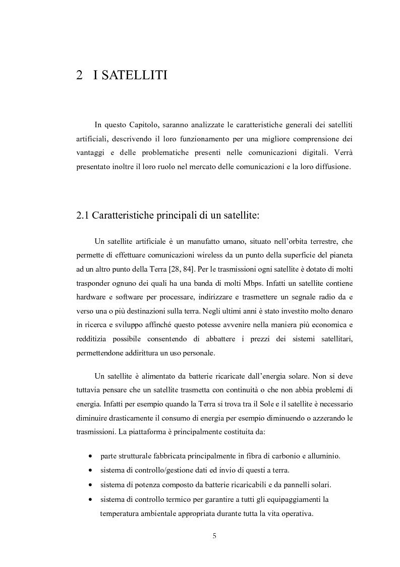 Anteprima della tesi: Protocolli basati su TCP per comunicazioni satellitari, Pagina 5