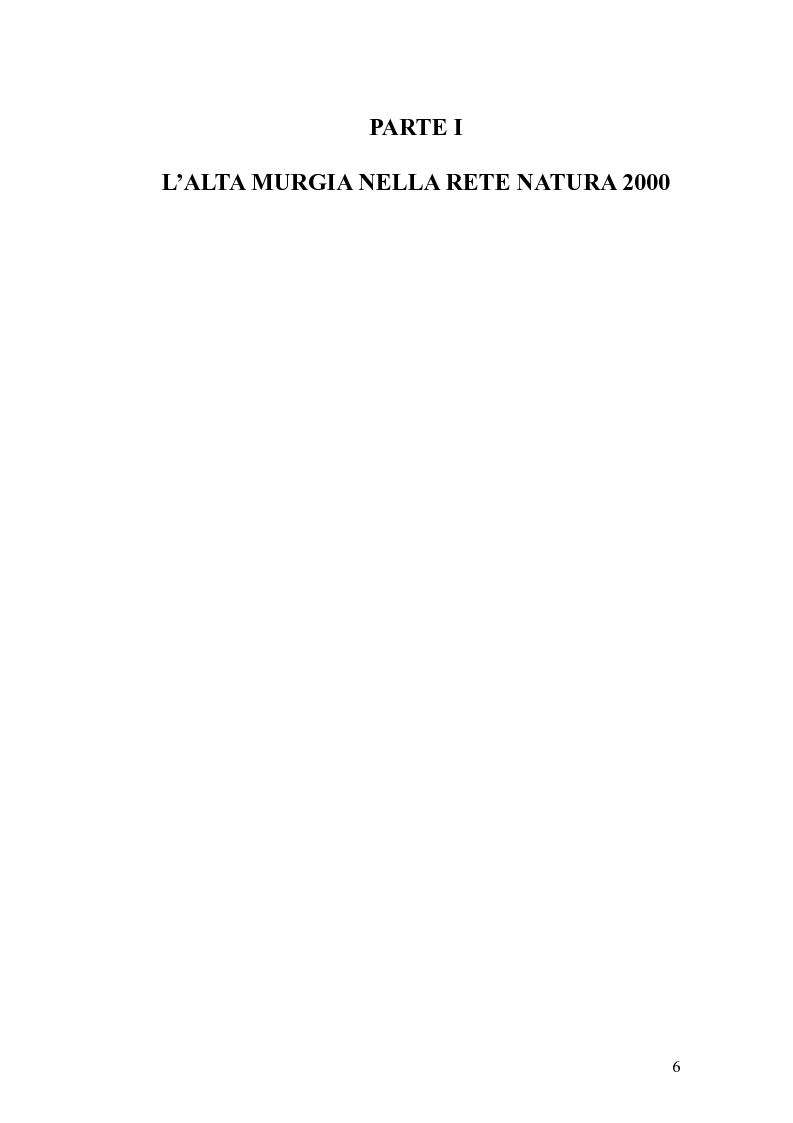 Anteprima della tesi: Valutazione di incidenza ambientale: analisi di un caso di studio, Pagina 1