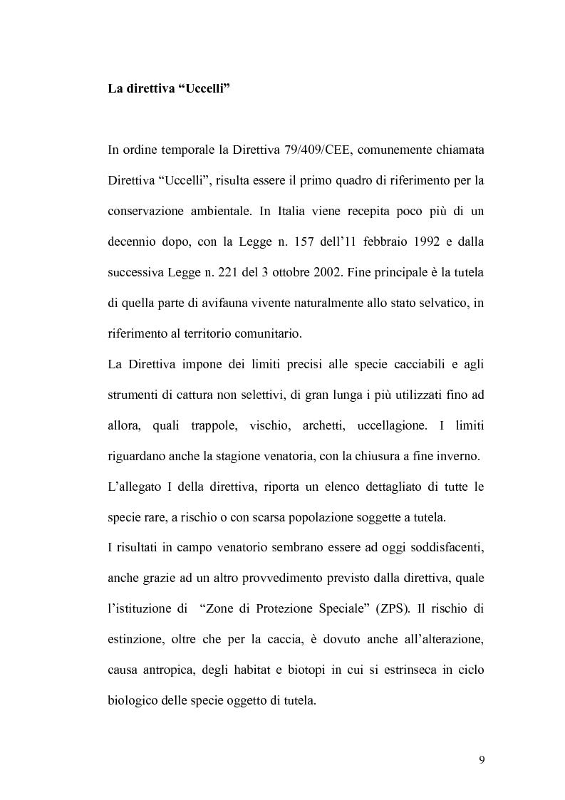 Anteprima della tesi: Valutazione di incidenza ambientale: analisi di un caso di studio, Pagina 4