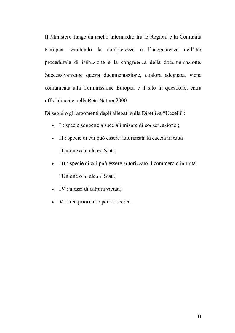 Anteprima della tesi: Valutazione di incidenza ambientale: analisi di un caso di studio, Pagina 6