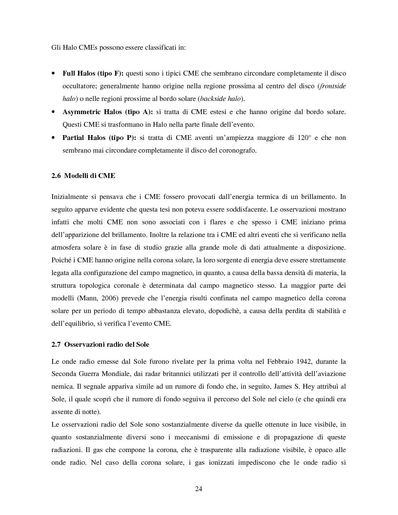 Anteprima della tesi: Studio di eventi di espulsioni di massa coronale, Pagina 13