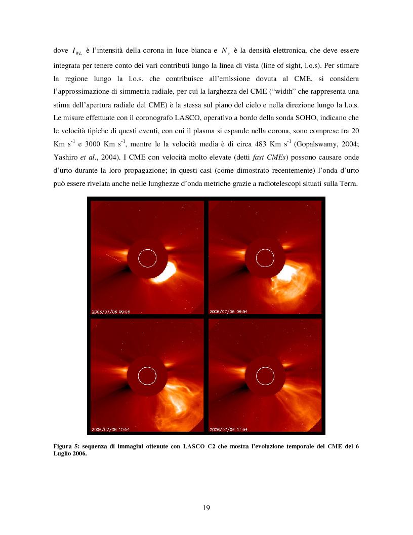 Anteprima della tesi: Studio di eventi di espulsioni di massa coronale, Pagina 8