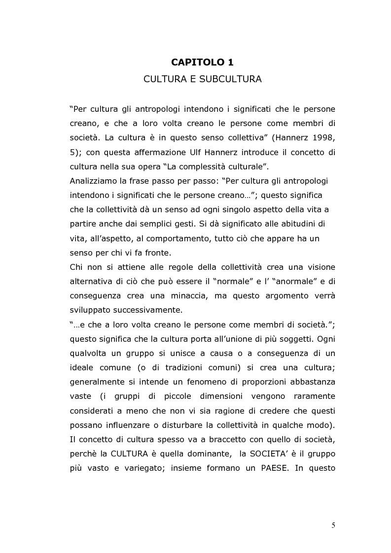 Anteprima della tesi: Conforme a chi, conforme a cosa. Sottoculture musicali e il dibattito sulla normalità., Pagina 3