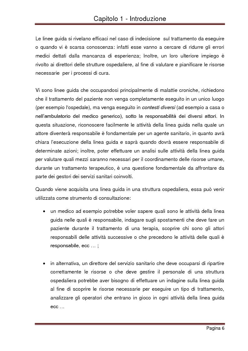 Anteprima della tesi: Strumenti automatizzati per la focalizzazione di linee guida cliniche per tipologie di agenti, Pagina 2