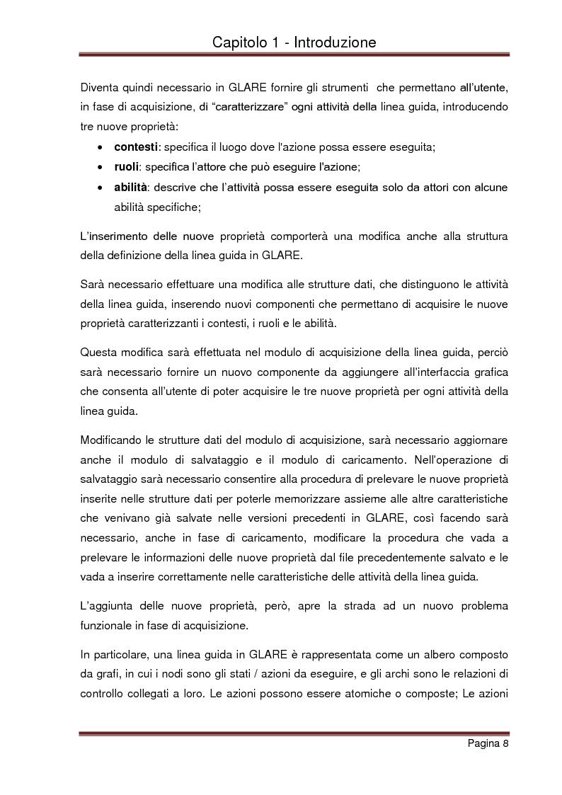 Anteprima della tesi: Strumenti automatizzati per la focalizzazione di linee guida cliniche per tipologie di agenti, Pagina 4