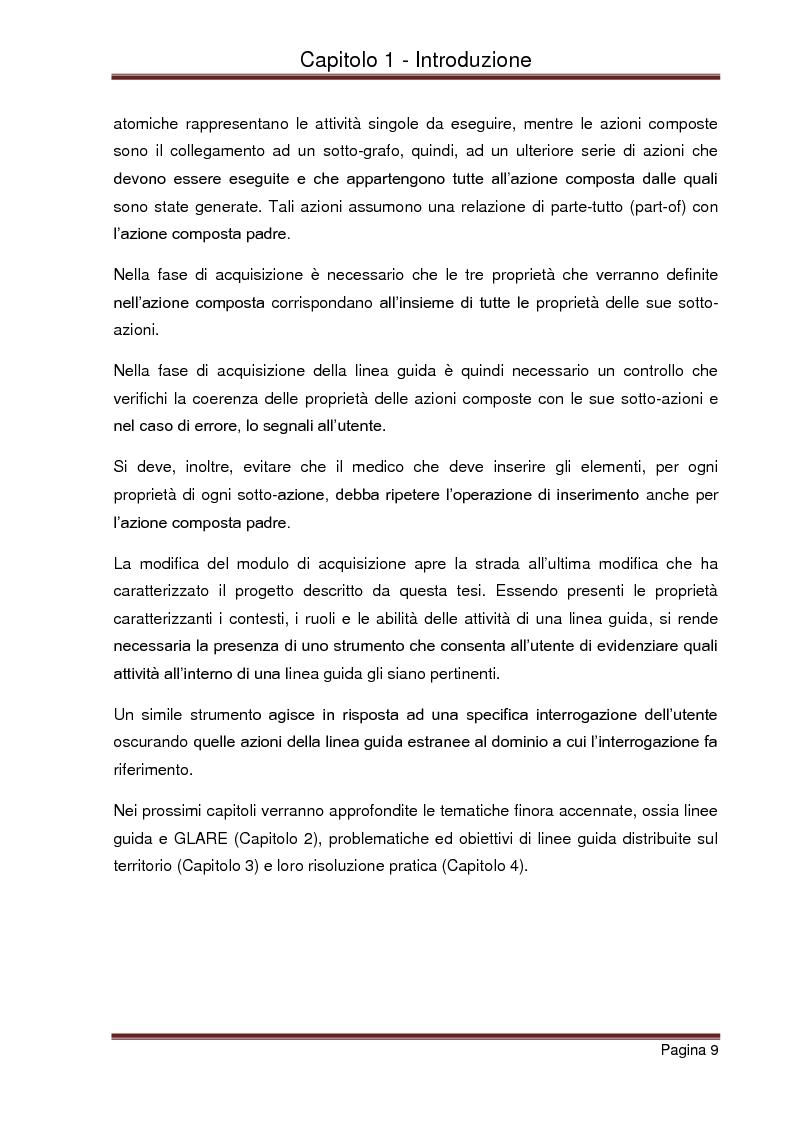 Anteprima della tesi: Strumenti automatizzati per la focalizzazione di linee guida cliniche per tipologie di agenti, Pagina 5