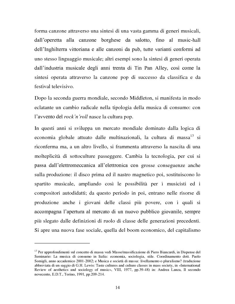 Anteprima della tesi: La musica in MP3: implicazioni e problematiche, Pagina 12