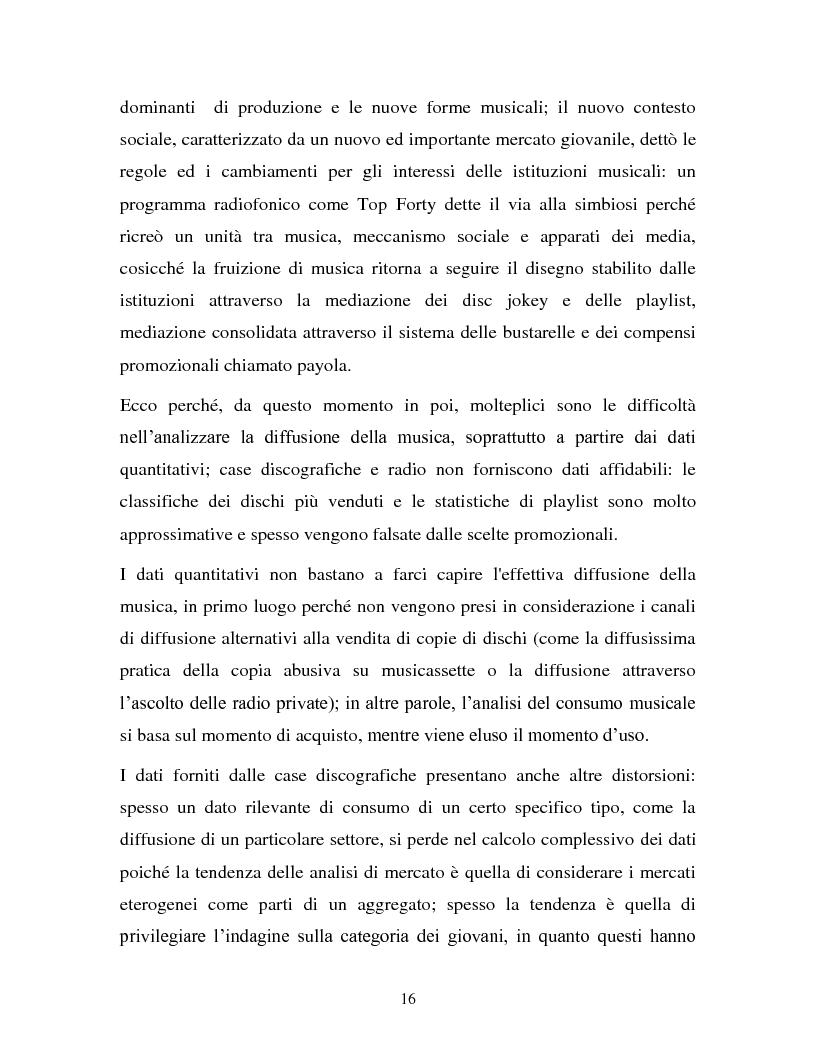 Anteprima della tesi: La musica in MP3: implicazioni e problematiche, Pagina 14