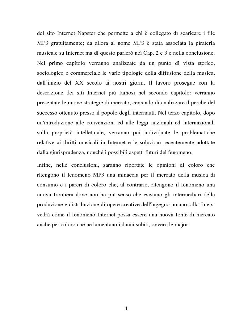 Anteprima della tesi: La musica in MP3: implicazioni e problematiche, Pagina 2