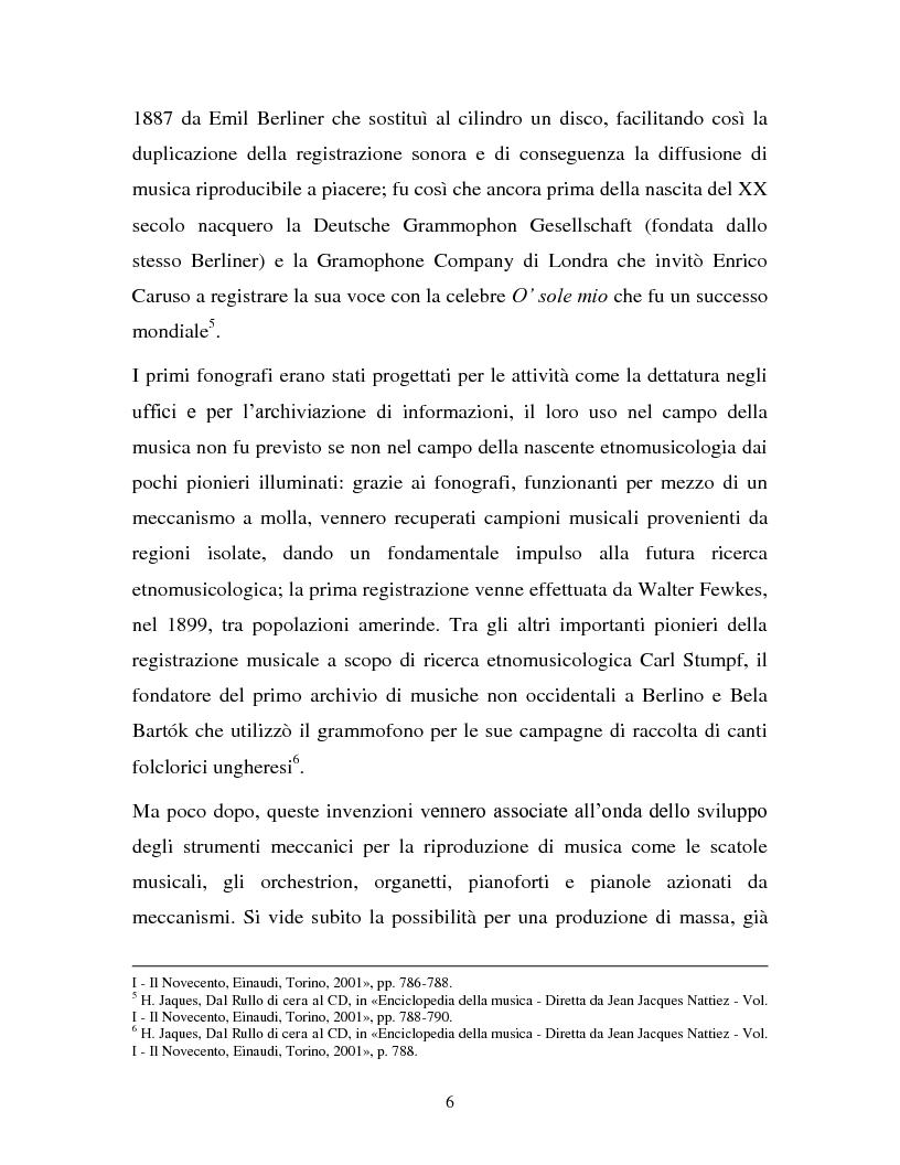 Anteprima della tesi: La musica in MP3: implicazioni e problematiche, Pagina 4