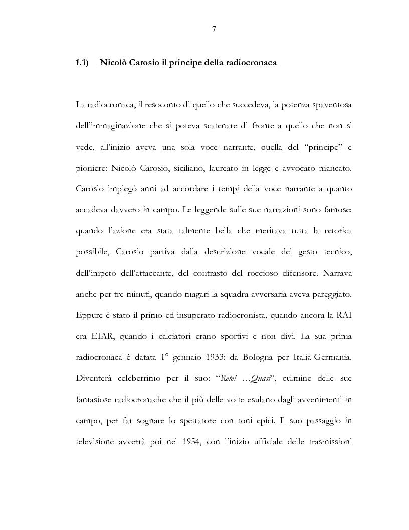 Anteprima della tesi: Il calcio e la televisione, Pagina 4
