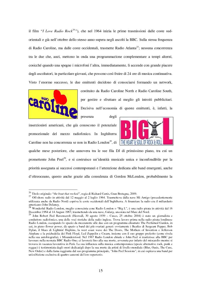 Anteprima della tesi: Radio Deejay, R101 e Radio 24 - A confronto tre strategie di successo nel panorama radiofonico nazionale, Pagina 13