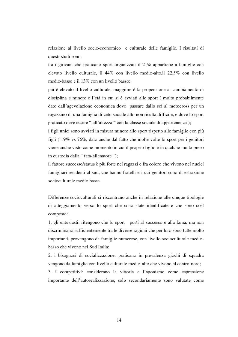 Anteprima della tesi: I presupposti motivazionali del giocatore di rugby: dall'attività giovanile all'alto livello, Pagina 6
