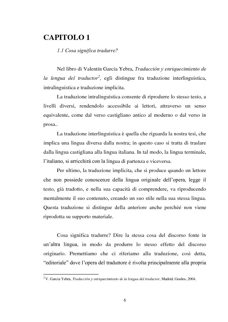 Anteprima della tesi: Don Quijote en Italia: traduzioni e riduzione (alcuni esempi), Pagina 3
