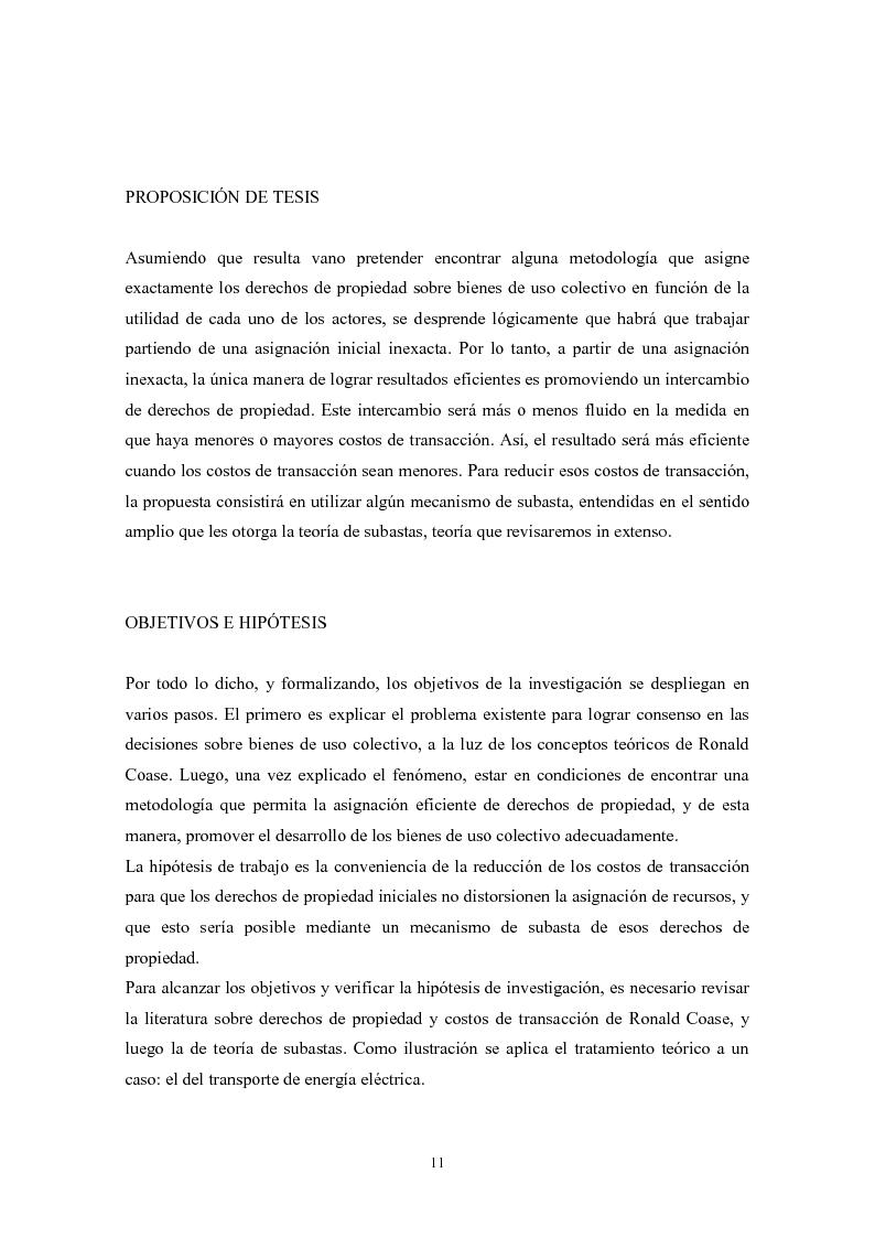 Anteprima della tesi: De granjeros, subastas y energìa - Asignación de derechos de propiedad sobre bienes de uso colectivo mediante subastas. El caso de la transmisión eléctrica en Argentina, Pagina 2