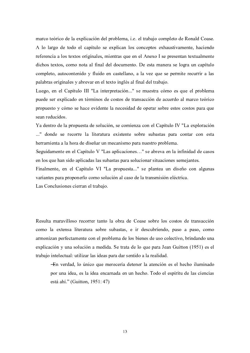 Anteprima della tesi: De granjeros, subastas y energìa - Asignación de derechos de propiedad sobre bienes de uso colectivo mediante subastas. El caso de la transmisión eléctrica en Argentina, Pagina 4