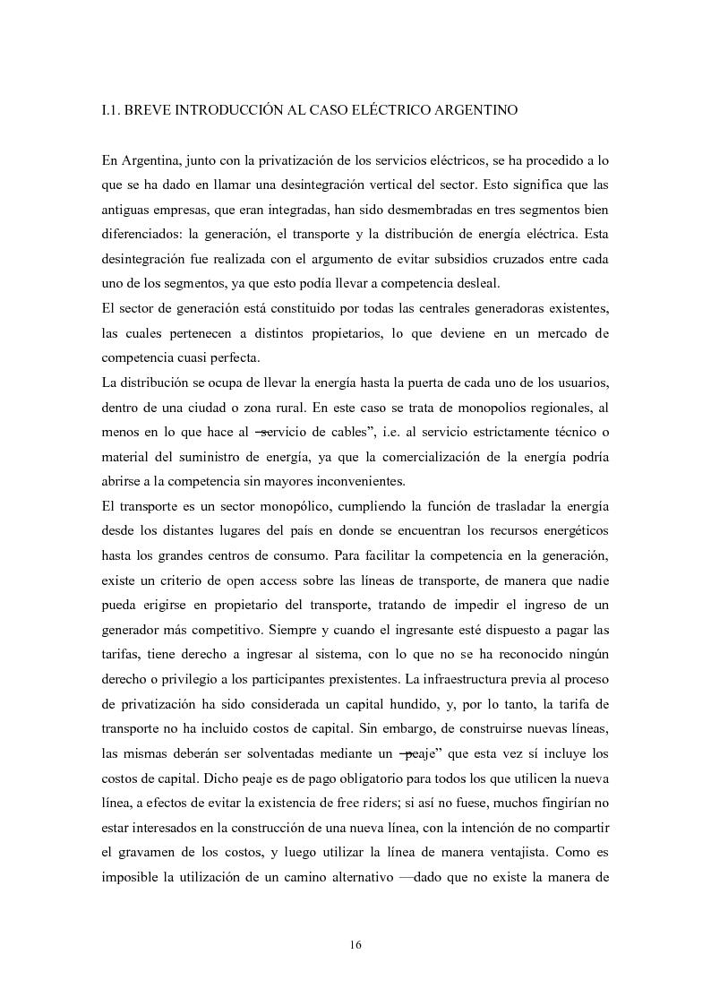 Anteprima della tesi: De granjeros, subastas y energìa - Asignación de derechos de propiedad sobre bienes de uso colectivo mediante subastas. El caso de la transmisión eléctrica en Argentina, Pagina 7