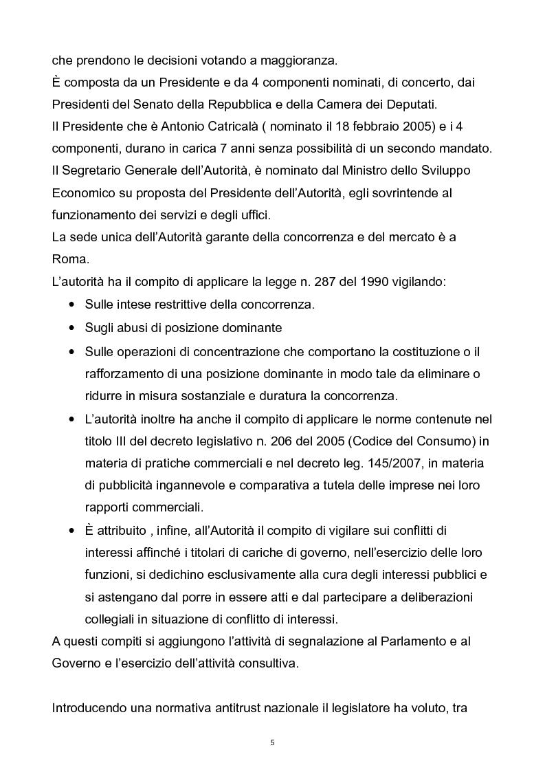 Anteprima della tesi: Il controllo dell'autorità garante per la concorrenza e il mercato sulla pubblicità comparativa e ingannevole, Pagina 4