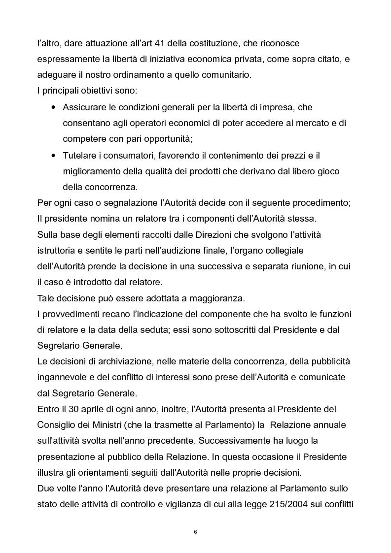 Anteprima della tesi: Il controllo dell'autorità garante per la concorrenza e il mercato sulla pubblicità comparativa e ingannevole, Pagina 5