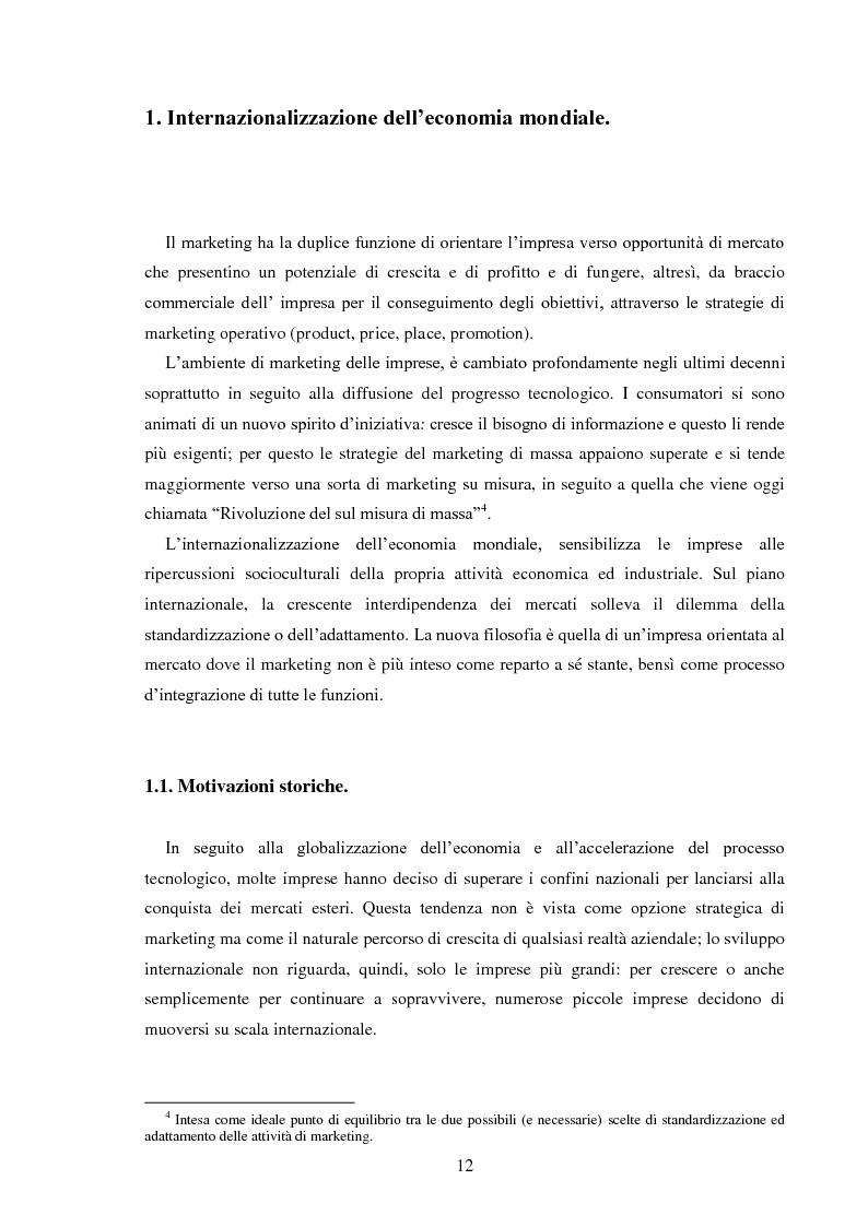 Anteprima della tesi: Pubblicità e identità globale - Il caso Barilla: Italia e Francia in raffronto attraverso l'analisi delle campagne televisive, Pagina 7