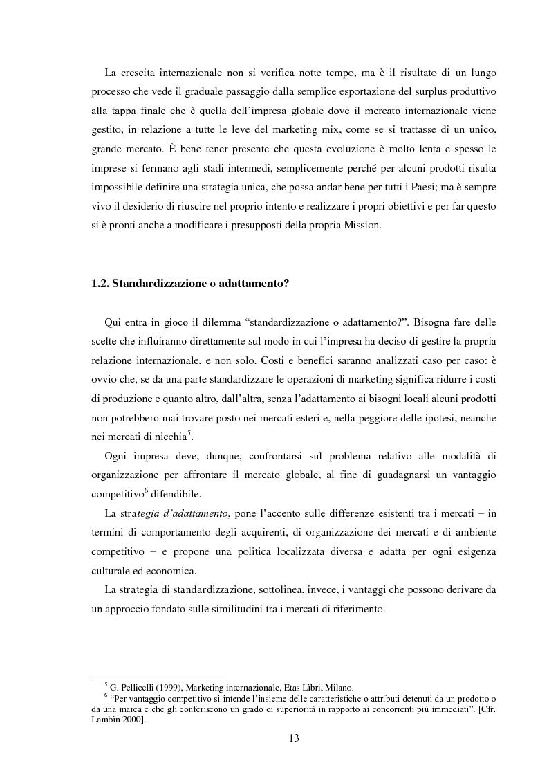 Anteprima della tesi: Pubblicità e identità globale - Il caso Barilla: Italia e Francia in raffronto attraverso l'analisi delle campagne televisive, Pagina 8