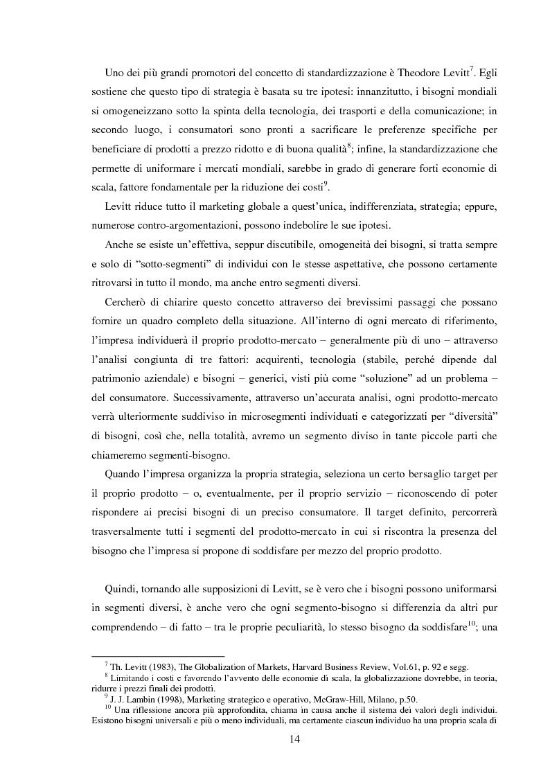 Anteprima della tesi: Pubblicità e identità globale - Il caso Barilla: Italia e Francia in raffronto attraverso l'analisi delle campagne televisive, Pagina 9