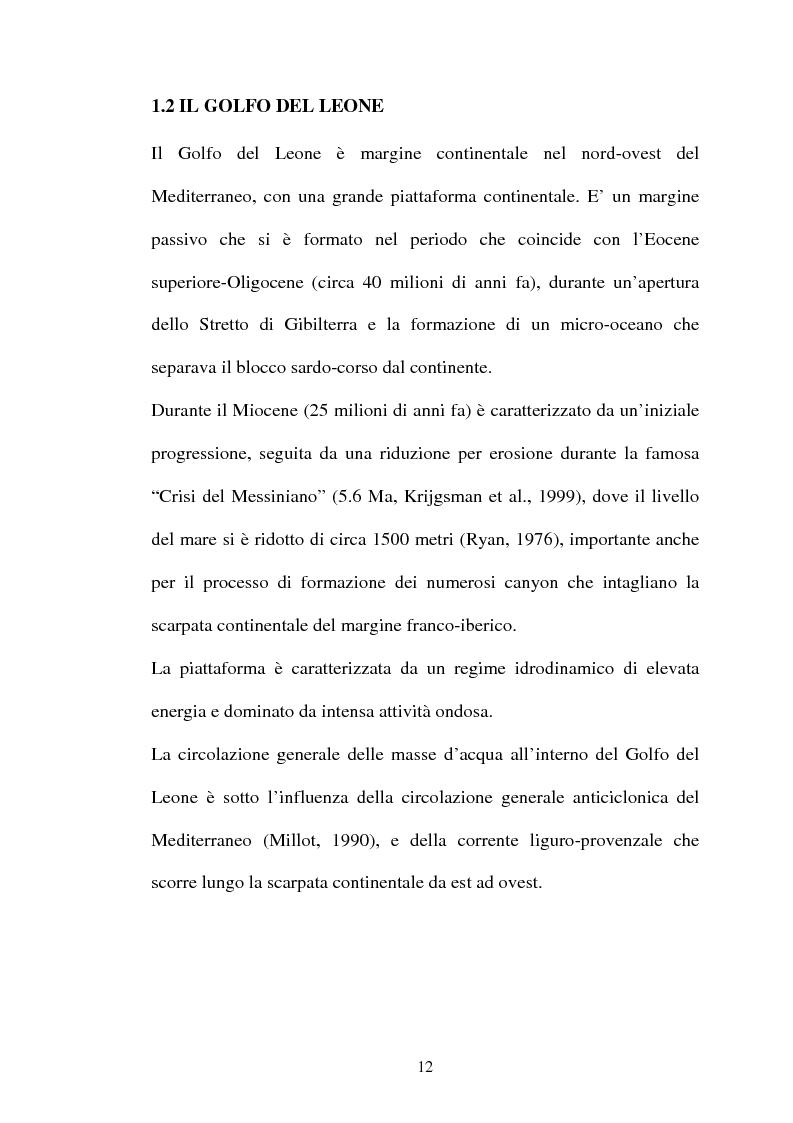 Anteprima della tesi: Struttura delle comunità procariotiche nei sedimenti profondi del Mediterraneo, Pagina 4