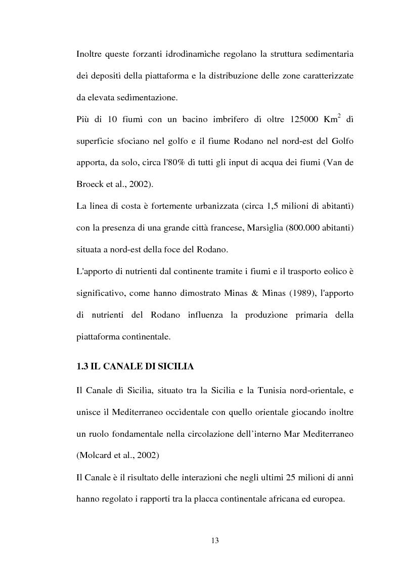 Anteprima della tesi: Struttura delle comunità procariotiche nei sedimenti profondi del Mediterraneo, Pagina 5