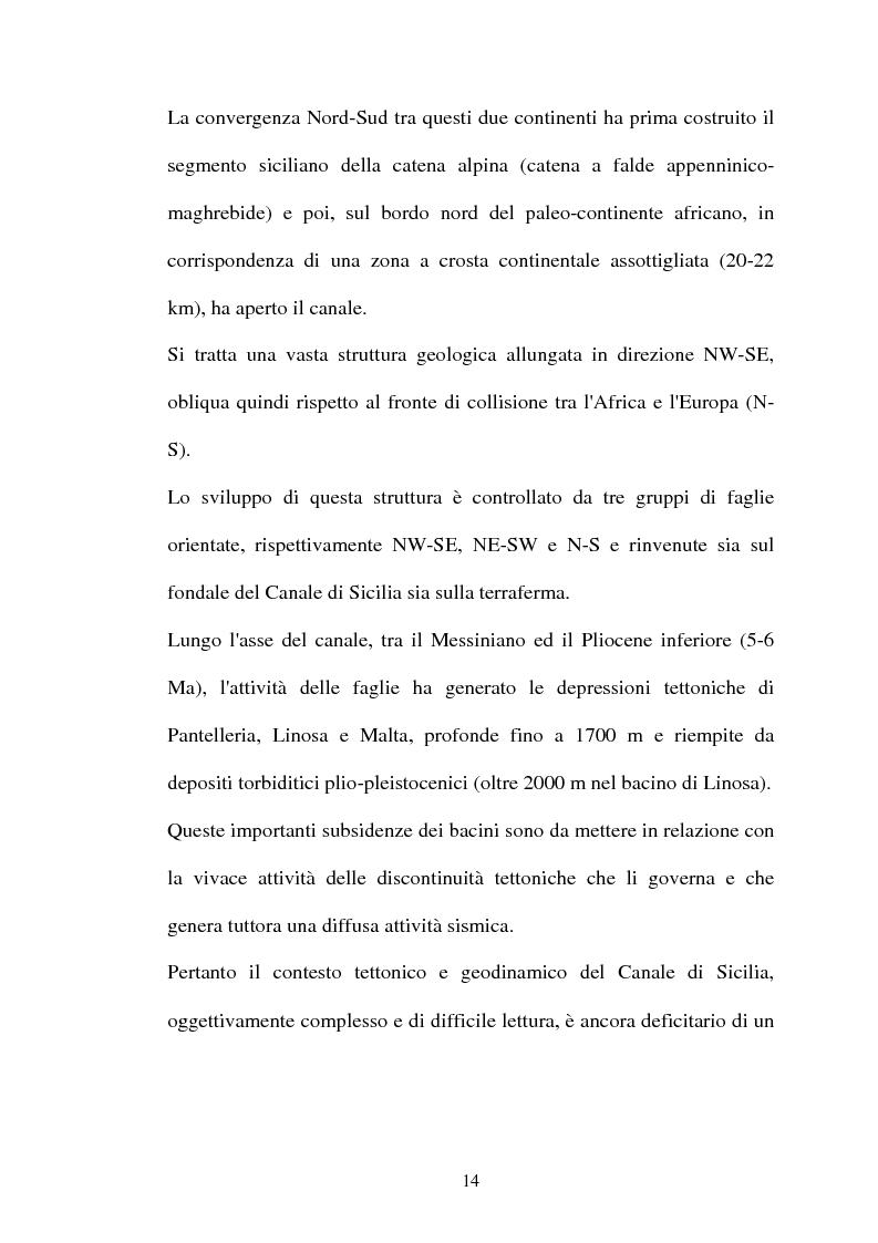 Anteprima della tesi: Struttura delle comunità procariotiche nei sedimenti profondi del Mediterraneo, Pagina 6